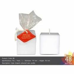 Big Cube Shape Candle