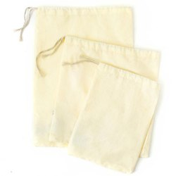 100% GOTS Certified Organic Cotton Nut Milk Bag