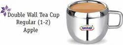 NAVKAR STEEL DOUBLE WALL TEA CUP