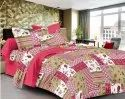 Designer Cotton Printed Double Bedsheet
