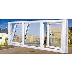 White Upvc Double Glazed Windows