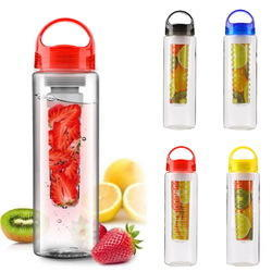800ML Fruit Fuzer Infusing Infuser Sports Water Bottle