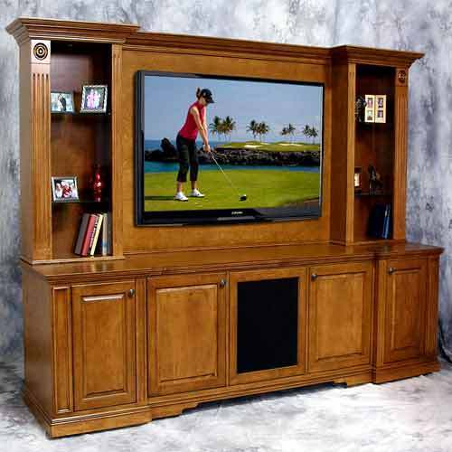 Brown Modular Tv Cabinet Rs 25000 Piece Alcons Id 14656788430