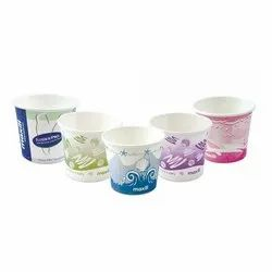 Colored Disposable Paper Cup, Capacity: 90 mL