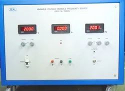 Variable Voltage , Frequency Source