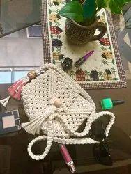 Cotton Macrame Bag