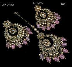 REWA Reverse Ad Earring Tikka Set