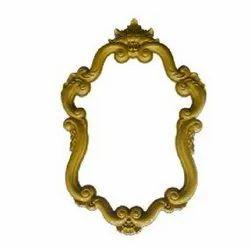 6800 Golden Mirror Frame