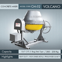 Heavy Duty Volcano Concrete Mixer