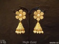 Jhumki Antique Earrings