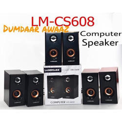 Black Landmark LM-CS608 Computer Speaker