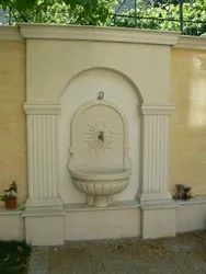 Designer Sandstone Wall Fountain