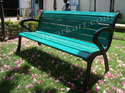 Imperial Cast Iron Garden Bench