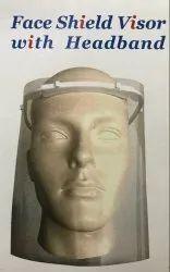 Face Shield Visor With Headband