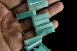 Amazonite Stick Shape Faceted Beads