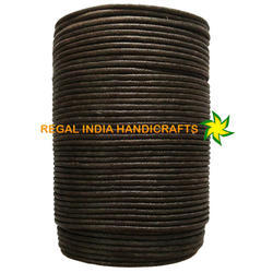 Dark Brown Waxed Cotton Cord