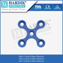 X Plate (Titanium)