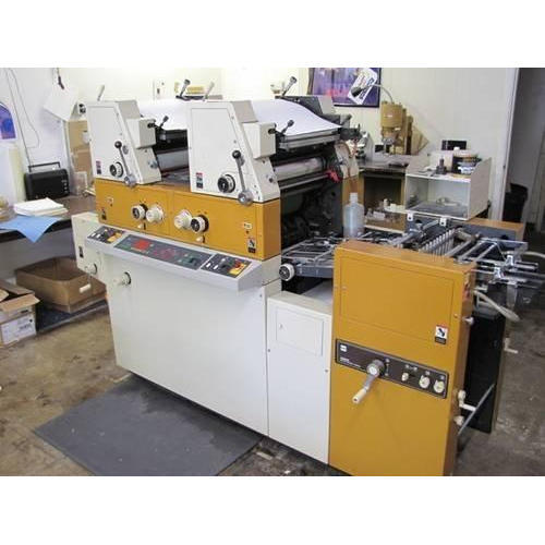 Used abdick mini offset machine jindal offset india private ryobi 3302 3985 2 colors mini offset machine publicscrutiny Choice Image