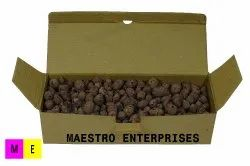 Solid Clay Pebble LECA Balls, Grade: Hydroponic, Packaging Type: in Corrugated Box