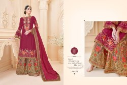 Rsf Zeenath Series 14601-14605 Stylish Party Wear Satin Georgette Suit