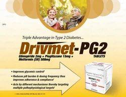 Glimpiride 2mg Pioglitazone 15 mg Metformin SR Tablets