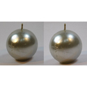 Silver Ball Candles