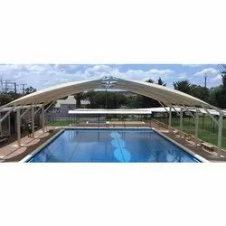 Color Coated Swimming Pool Tensile Cover