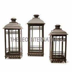 Antique Look Decorative Lantern Set of 3