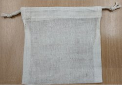 Cotton Bar Pouch Bag