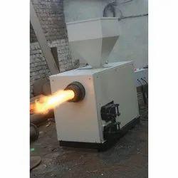 Silver Electric Biomass Wood Pellet Burner, Model Name/Number: AM-400
