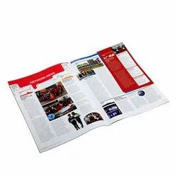 Printed Offset A5 size magazine Printing Service, Location: Pan India, Size: A4, A5