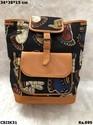 Ikat Multicolour Shoulder Backpack