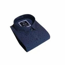 SRW Kevin King Mens Cotton Printed Party Wear Shirt