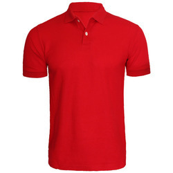 77400d3f Cotton Casual Wear Mens Plain Polo T Shirt, Rs 325 /piece | ID ...