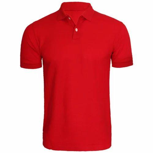 6e85fcc1 Cotton Casual Wear Mens Plain Polo T Shirt, Rs 325 /piece | ID ...