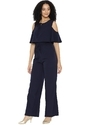 Women Cold-Shoulder Jumpsuit