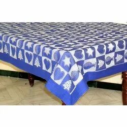 Printed 004 Cotton Table Linen, Packaging Type: Packet, Size: 52