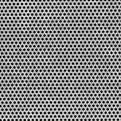 Silver Stainless Steel Perforated Sheet