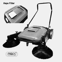 Manual Sweeper with HEPA Filter