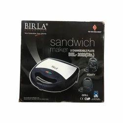 Birla Lifestyle Birla Sandwich Toaster, 700 W