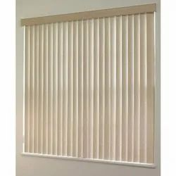 Square PVC Vertical Window Blinds, Packaging Type: Roll