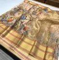Pure Organza Soft Silk Saree With Digital Print
