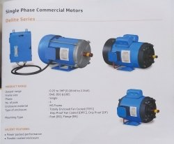 V-Guard Make Delight Series 0.25 To 3 Hp Single Phase Commercial Motors