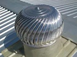 Aruna Galvanised PC Base Turbo Vents, Coating Thickness: 1 mm