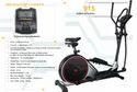 Pro Bodyline Heavy Duty Elliptical Cross Trainer 915