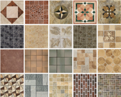 Ceramic Kitchen Floor Tile, Thickness: 10 - 12 mm