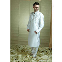 Pin Tucks Work Kurta Pajama