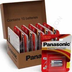 Panasonic Lithium Battery Cr123a, Voltage: 3V