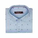 Sky Blue Color Full Sleeve Casual Shirt