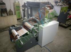 Silver Foil Rewinding Machine